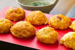 Akashiyaki (local food of Akashi) 560엔